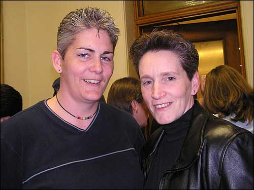 Allison Goodwin and Jeanette Wiffen