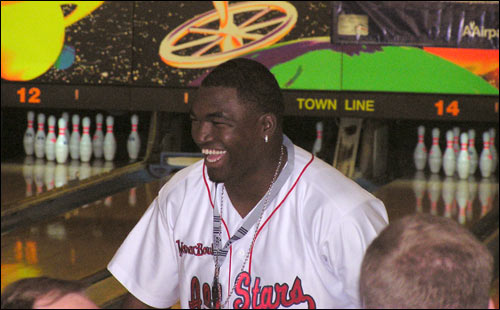 Ortiz has plenty to be happy about: a multi-million dollar contract extension and a nice spare pick-up.