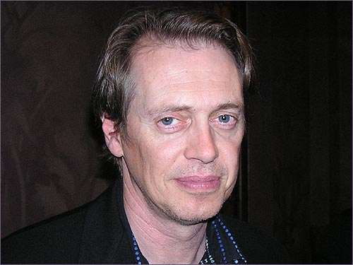 Actor Steve Buscemi was there, although he seemed a little tired when we approached him. A native New Yorker and Yankees fan, we asked Buscemi if Grady Little should have taken Pedro out in the eighth inning in Game 7 of last year's ALCS. His response: 'Let's not do this. Because I'm really too tired.'