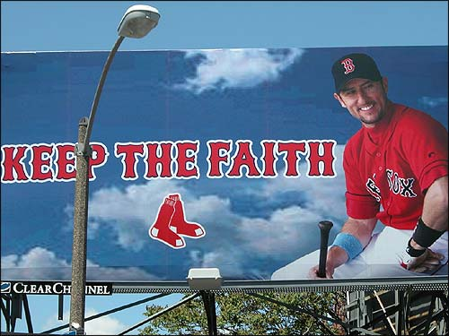 This Nomar billboard offers Red Sox Nation some good advice - especially in his absence. (Photo submitted by Jean from Virginia Beach)