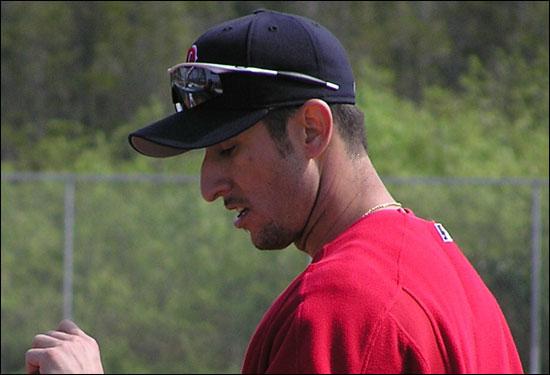 Nomar's last spring fling in Ft. Myers 2004.