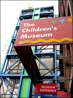 A place where kids can explore and experiment to their hearts content, The Boston Children's Museum is located at 300 Congress St. along Fort Point Channel.