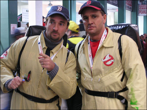 Who ya gonna call? Steve and Wayne Brechtel are up to the task of busting Boston's postseason ghosts.