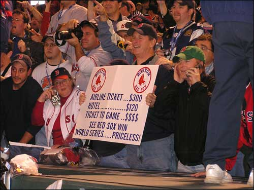 This sums it up for Red Sox fans who made the effort to be in St. Louis and witness the moment.