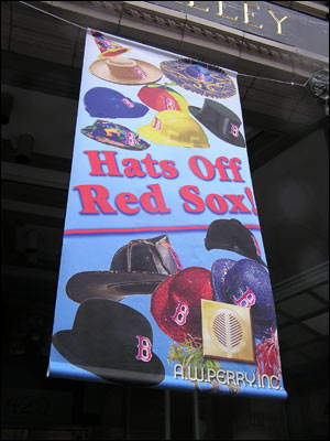 Here are some new ideas for Sox hats.