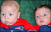 Pint-sized Patriots fans