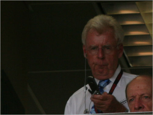 ESPN's Peter Gammons was in Fort Myers to watch the Sox take on the Phillies. The man who is always working the phones will be in town covering the World Series champs until Saturday but is not caught up in all the hype of the Yankees-Red Sox showdown Monday night.