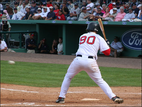 Everyone gets into the game in the first games of spring training. If you know who wears No. 90 for the Red Sox, consider yourself a hardcore fanatic.