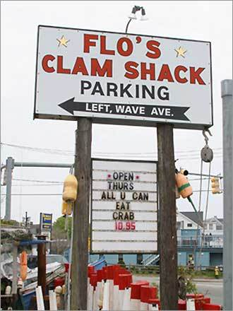By far my favorite place to snack is Flo's Clamshack. Nothing ends a perfect day at the beach better than a stop at Flo's for a bucket of steamers and a Corona. I try to make a point of visiting Newport at least once every summer and always make time for Flo's. - Mary, West Roxbury, MA