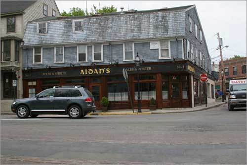Aidan's on Brodway has an old Irish atmosphere, with dim lighting, reasonably priced food, and great Guiness. - Bob, Boston, MA