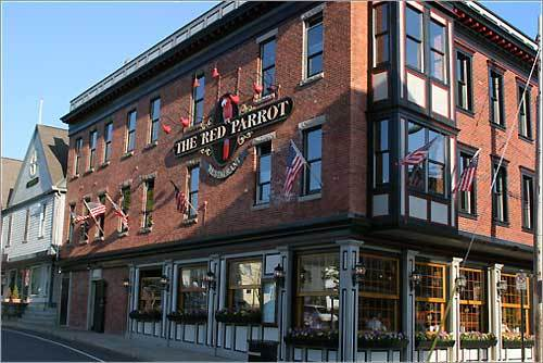 The Red Parrot is in the middle of the touristy area, but has absolutely amazing clam chowder and frozen drinks. It's difficult to grab a seat by the window when it's nice out, but it IS worth the wait to people watch while eating. - Tiffany, Sturbridge, MA