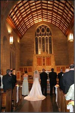 Kristie Banks and Brian McManus were married on May 29, 2005 at St. Theresa of Avila Church in West Roxbury.