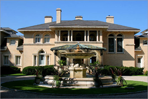 A former mansion, the Wheatleigh is an upscale resort nestled deep in the woods of Lenox.
