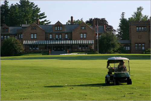 The Cranwell Resort has 116 rooms and features a 18-hole golf course over 380 acres.