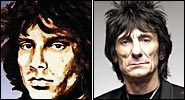 Ron Wood talks about his art