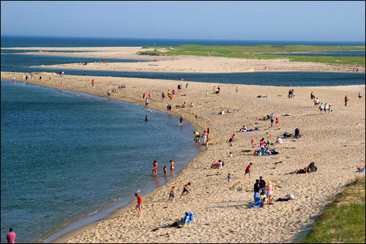 Chatham Lighthouse Beach, in Chatham, is clean and family-oriented.