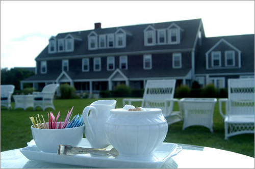 Claiming to be Nantucket's only inn that offers both bay and beach access, the Wauwinet Inn fuses relaxed island lodging and decor with elegant amenities and activities. More info on the inn