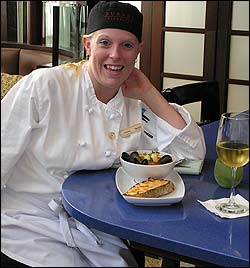 Cortney Rogers, Junior Sous Chef at Turner Fisheries