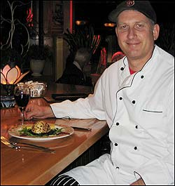 Chef John Silberman at Magnolias