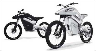 The ENV, or 'Envy,' is an acronym for Emissions Neutral Vehicle, billed as the world's first hydrogen-powered motorcycle.