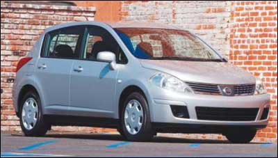 The 2007 Nissan Versa is part of a new wave of small, fuel efficient, and affordable cars, but despite the small size, it features a lot of headroom all around, ample legroom in the front, and even reasonable legroom in the rear.