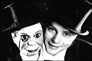Edgar Bergen A star during the 1930s-'50s, Bergen appeared with his puppet Charlie McCarthy (right) on TV and in movies; he had a top-rated radio show for many years, performing with Mae West, Dale Evans, and W.C. Fields.