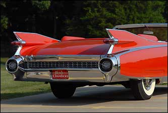 This 1959 Cadillac Biarritz Convertible Eldorado cost a mere $13,000 in 1959 and is now worth close to $100,000.
