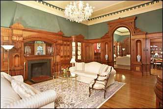 These beautiful million dollar homes kept us in a daydream. Location: Beacon Hill, condo Price: $2,595,000 Details: This stunning residence will transport you back in time with it's original 33'x19' black walnut paneled living room meticulously carved in 1836 when the Warren Mansion was constructed.... See more photos and information on this listing