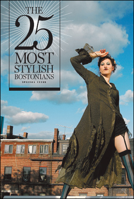 The 25 Most Stylish Bostonians - The Boston Globe Style Section Cover - November 2, 2006