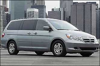 With the holidays approaching, travel season is about to pick up. Large families need a car that can comfortably carry five or more people and their stuff. Cars.com put together a top 10 list of vehicles that include station wagons, SUVs, minivans and even full-size vans. Safety features and crash-test ratings, reliability ratings, driving refinement, cargo versatility, as well as cabin comfort for all seats are all factors that were considered. 2007 Honda Odyssey: Best car for big families Price: Starting MSRP $25,645 – $36,895 Details: The Honda Odyssey has all the qualities that make a vehicle ideal for large families. There's room for up to eight people, plenty of luggage space, entertainment options for the kids, top crash-test ratings and the best gas mileage among large minivans when the 3.5-liter V-6 is equipped with available cylinder deactivation technology. Even though the Odyssey commands a bit of a price premium compared to its competitors, its refined performance and stand-out handling make it a winner on multiple fronts... See more details on this vehicle