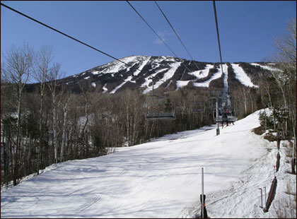 "8. Sugarloaf in Carrabassett Valley, Maine Sugarloaf is one big mountain, with one strong allegiance. Families appreciate loyalty and the folks at the Loaf are as legion as they come. The warm welcome you receive here separates this Maine mountain oasis from the others both spiritually and geographically. The terrain here is hearty, and so is the social life so far north – drawing skiers to its snowy pulpit. Sugarloaf throws weekly themed parties for families in the rustic but real base village, and a cast of woodsy characters like Amos the Moose, Blueberry Bear, and Pierre the Logger, are on hand to keep your kids smiling, making up for the long ""are we there yet?"" drive."