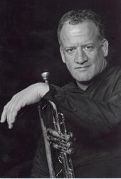 Chris Elliott and his trumpet.