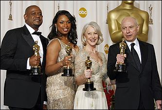 Forest Whitaker, Jennifer Hudson, Helen Mirren, Alan Arkin