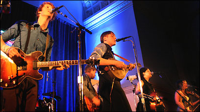Arcade Fire at the Judson Memorial Church, 55 Washington Square South in February.