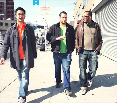 Vijay Iyer, Mike Ladd, and Ibrahim Quraishi