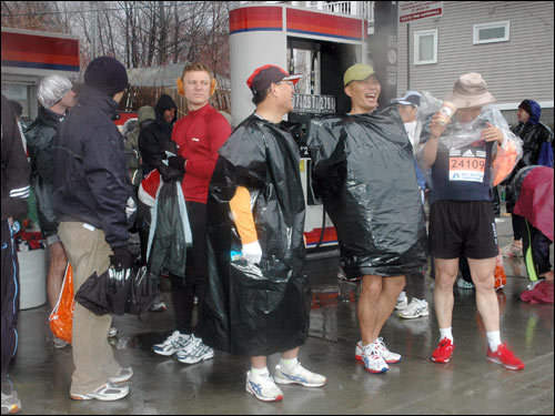 Marathon photos from Hopkinton
