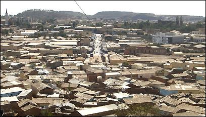 'Cityscape, Asmara, Eritrea'