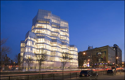 Frank Gehry's design for the headquarters of ICA/InterActiveCorp