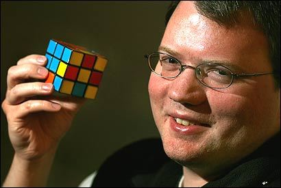 Dan Kunkle says 26 moves can solve any configuration of the Rubik's Cube.