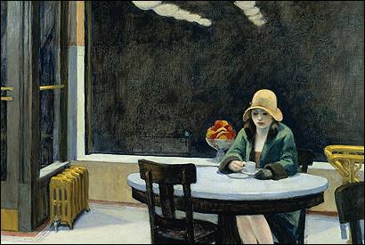 Edward Hopper's 'Automat'