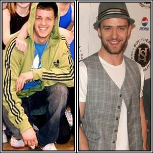 Jeremy Finney and Justin Timberlake