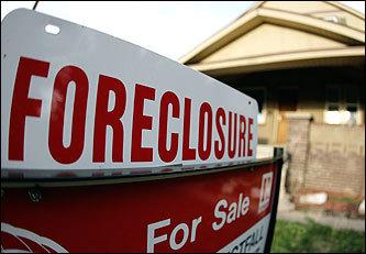 Foreclosure looms