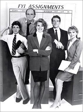 'Murphy Brown' cast