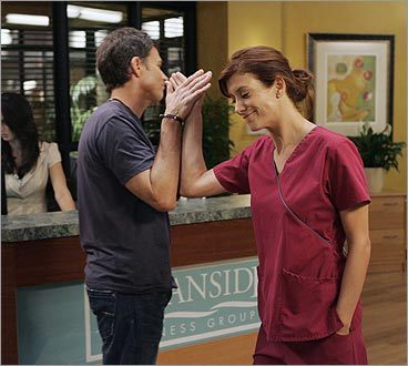 Pete and Addison on 'Private Practice'