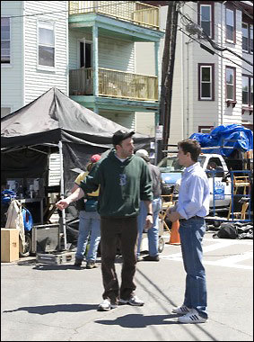 On set of 'Gone Baby Gone'