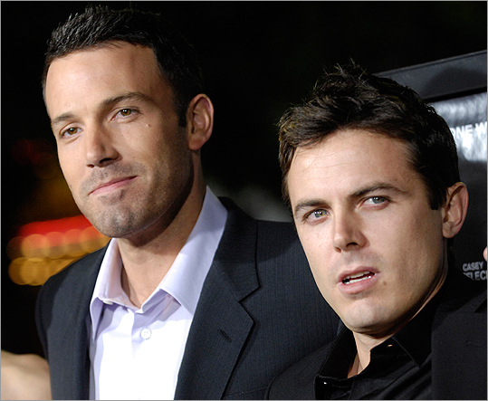 Affleck brothers at premiere