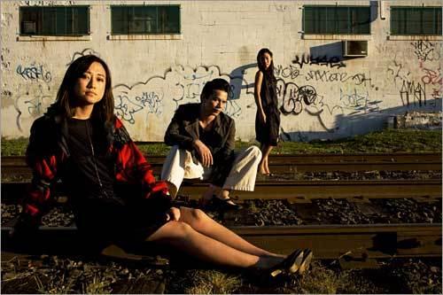 Timothy Parent, Kristin Kim, and Ivy Lee