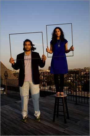 Camilo Alvarez and Alexandra Cherubini