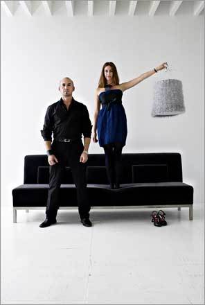 Fernanda Bourlot and Jose Pascual