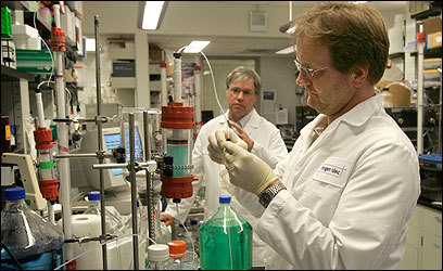 Biogen Idec Inc. scientists